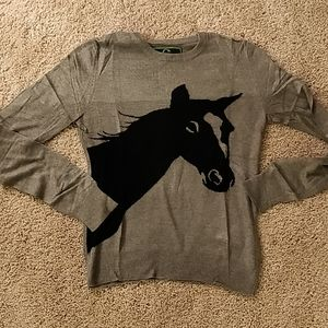 C Wonder horse sweater